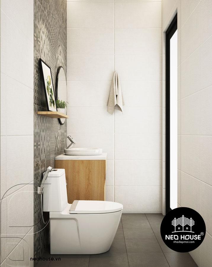 mẫu phòng tắm cho nhà ống 1