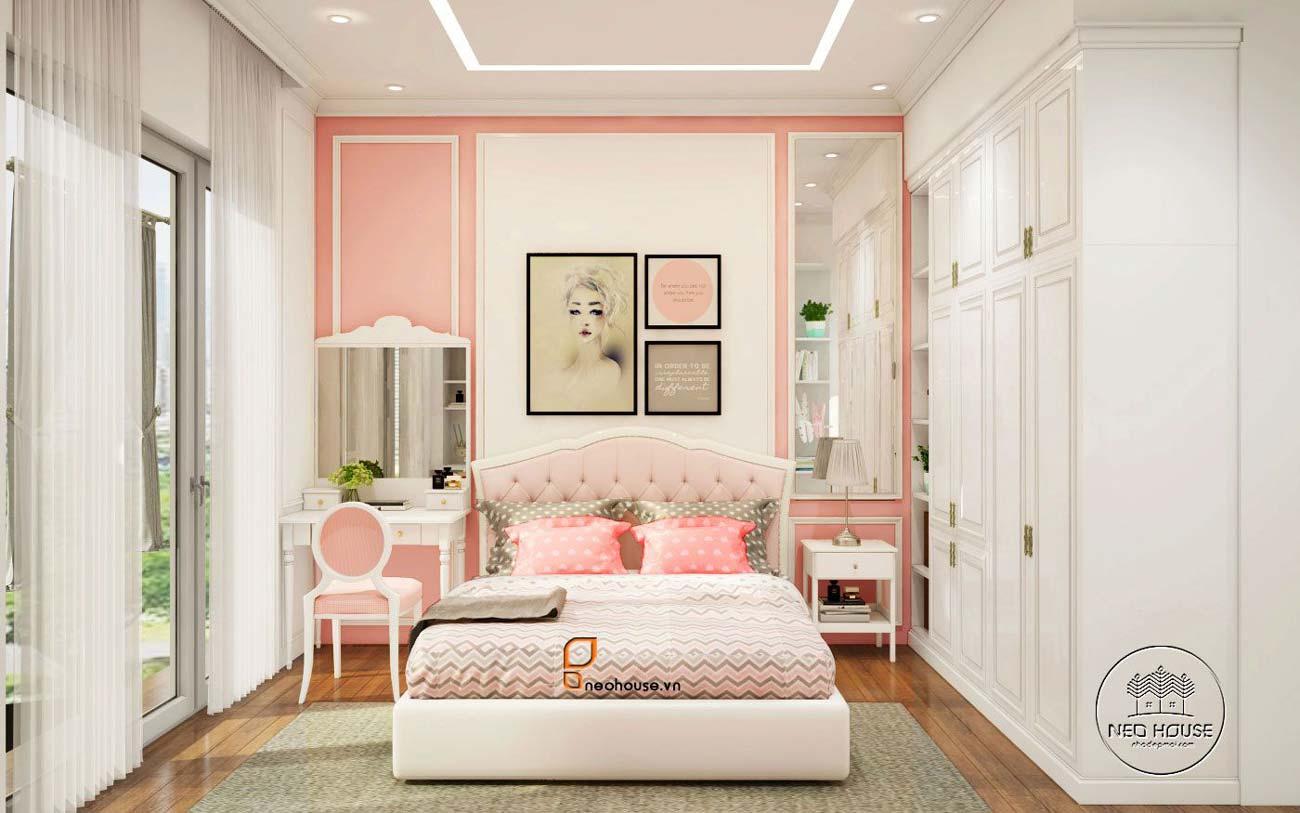 thiết kế phòng ngủ cho bé gái 2