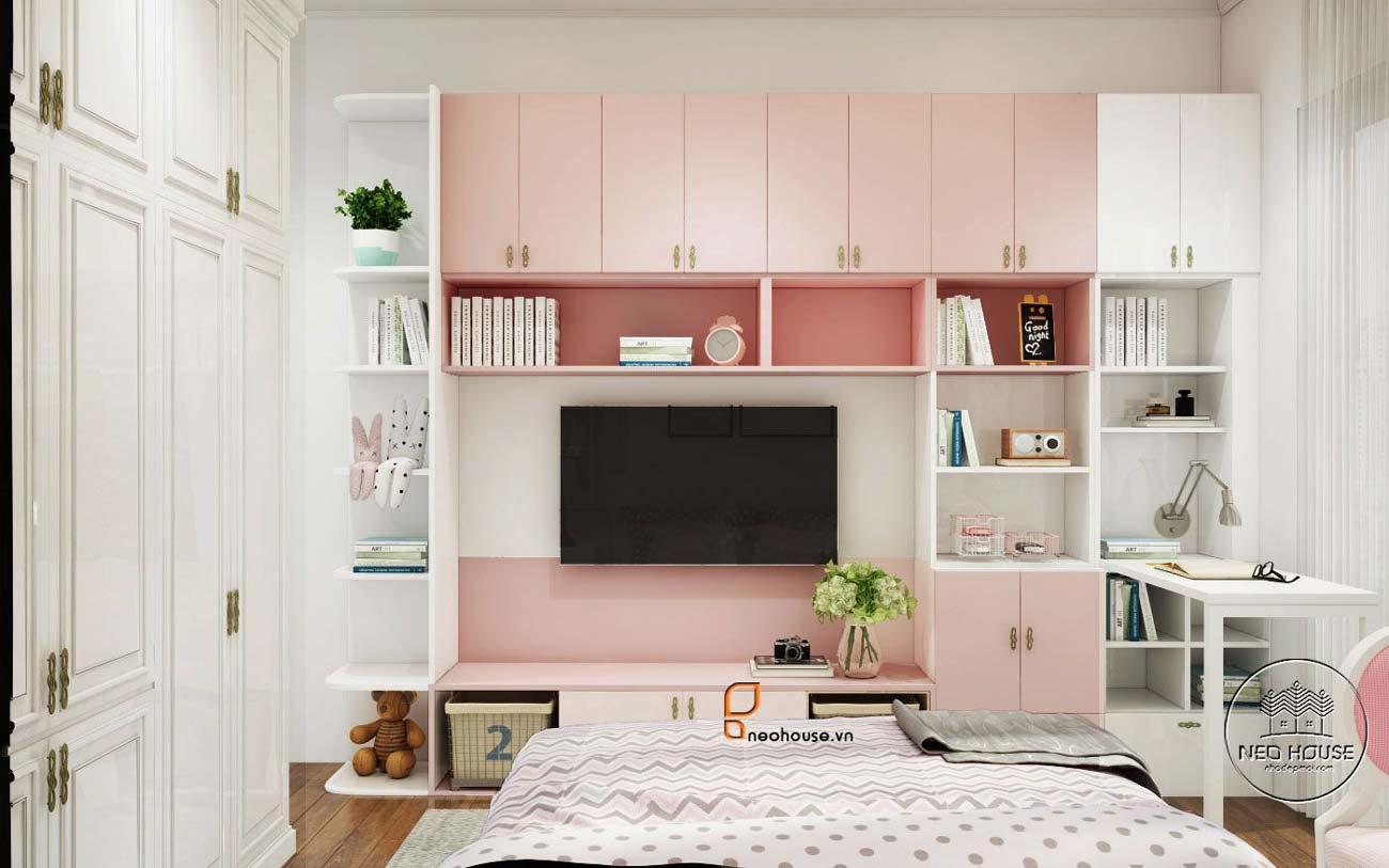 thiết kế phòng ngủ cho bé gái 3