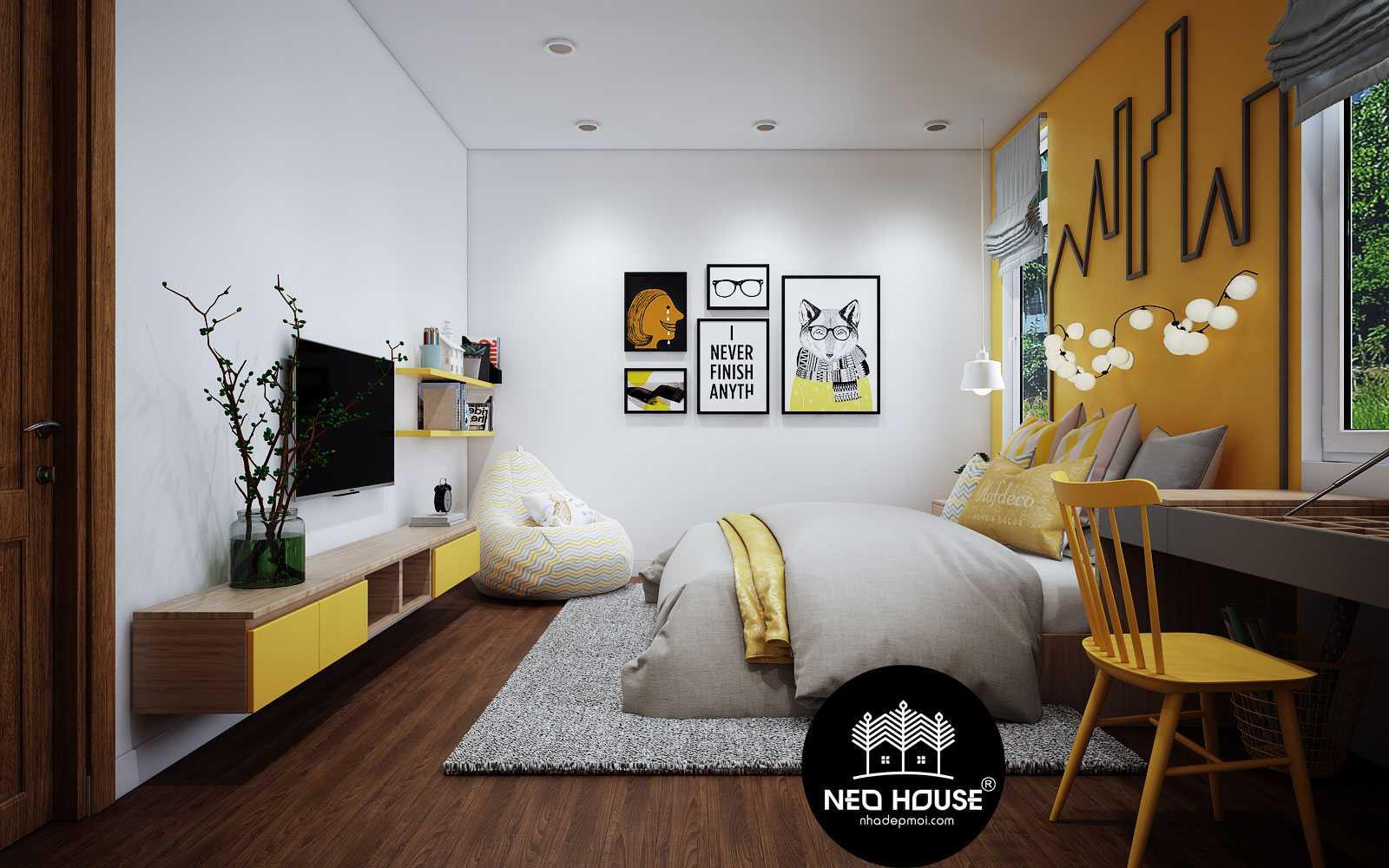 thiết kế phòng ngủ cho bé trai 1
