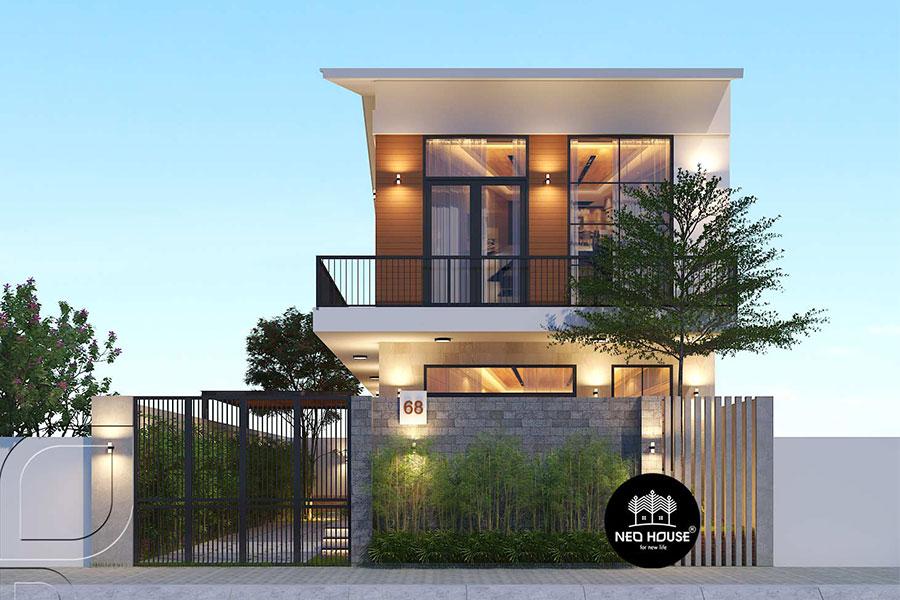 Biệt thự hiện đại đẹp 2 tầng. Ảnh bìa