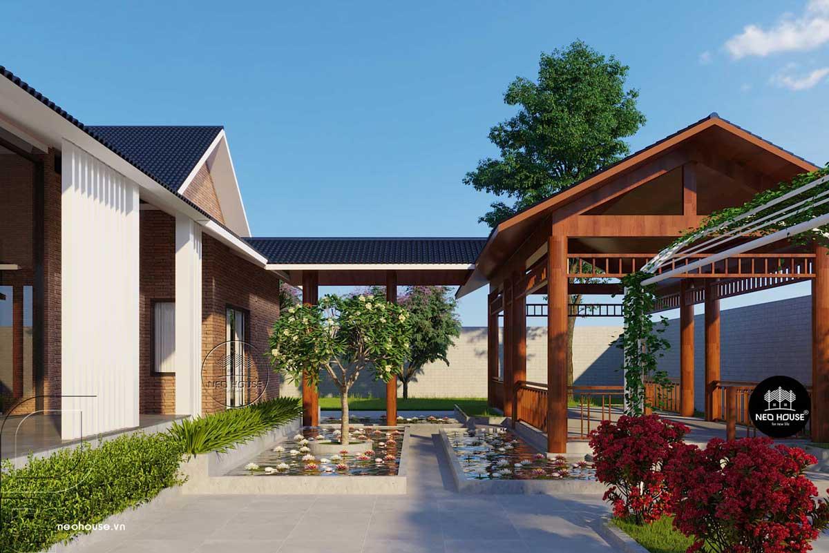 Thiết kế biệt thự sân vườn 2