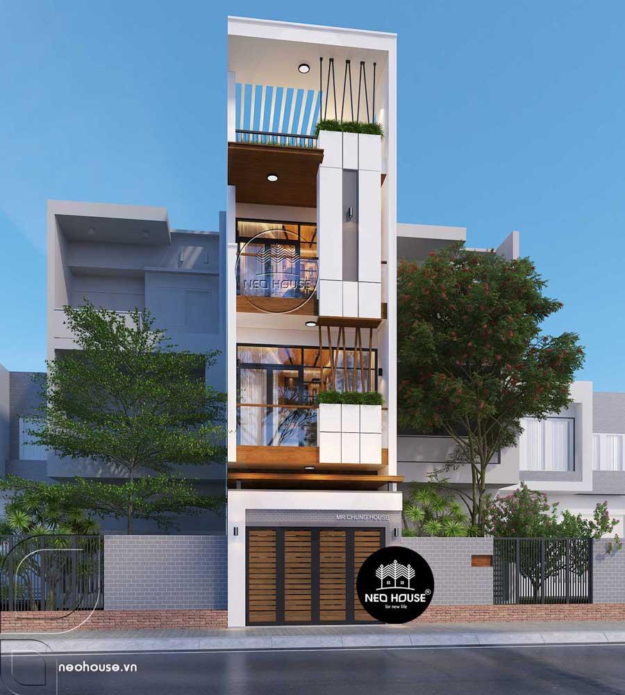 Thiết kế cải tạo nhà phố 3 tầng