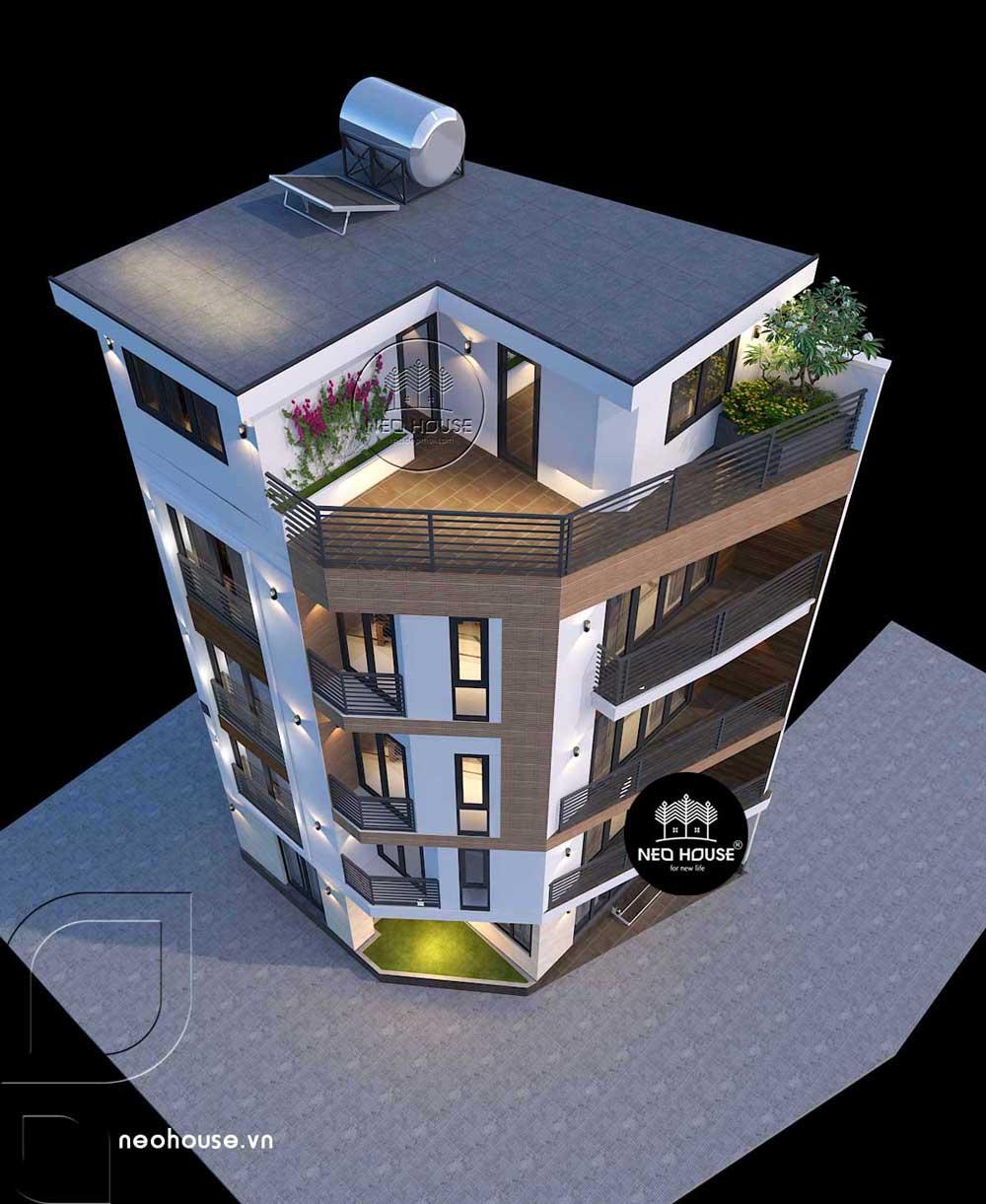 Thiết kế nhà ở kết hợp văn phòng kinh doanh 1