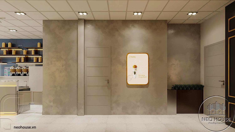 Thiết kế thi công nội thất quán trà sữa tocotoco. Ảnh 5