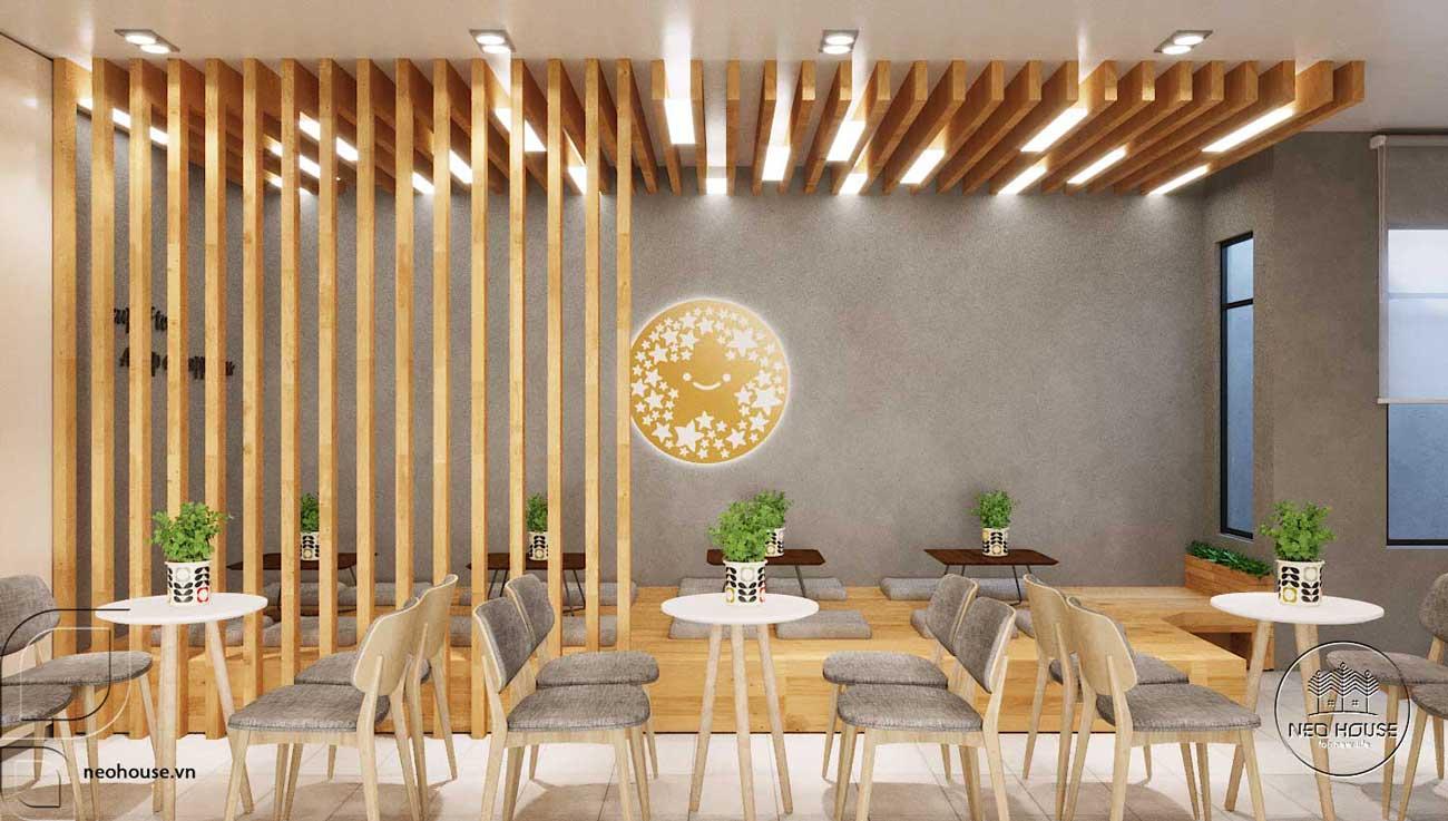 Thiết kế thi công quán trà sữa Tocotoco Nha Trang. Ảnh 10