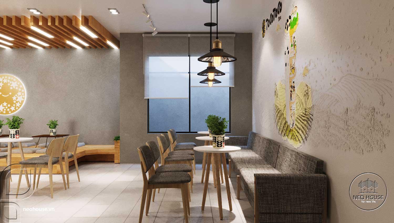 Thiết kế thi công quán trà sữa Tocotoco Nha Trang. Ảnh 7
