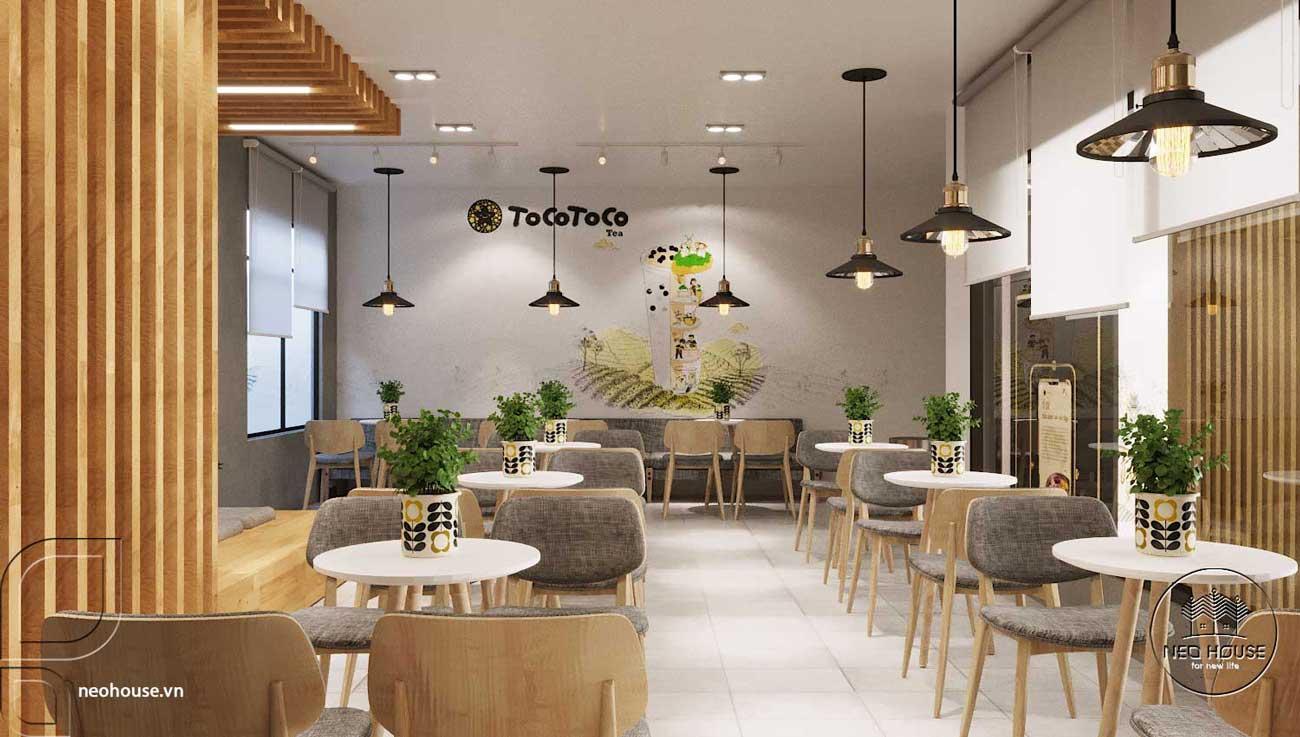 Thiết kế thi công quán trà sữa Tocotoco Nha Trang. Ảnh 8