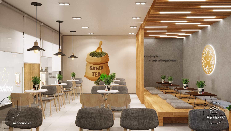 Thiết kế thi công quán trà sữa Tocotoco Nha Trang. Ảnh 9
