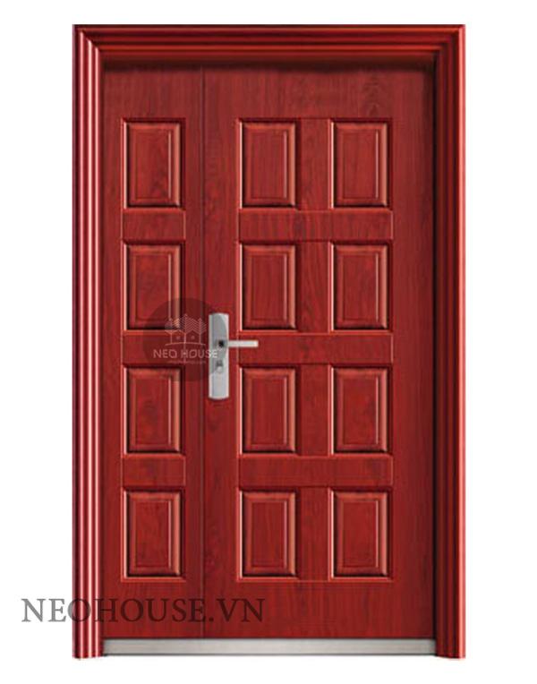 Kích thước cửa chính 2 cánh không đều