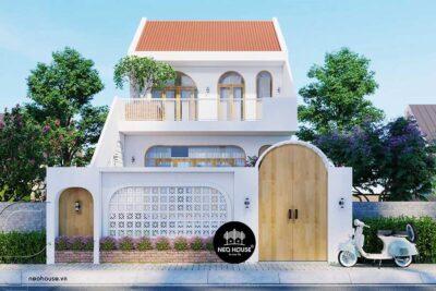Nhà Xinh Độc Đáo Với Lối Kiến Trúc Địa Trung Hải Tại Củ Chi – NX01