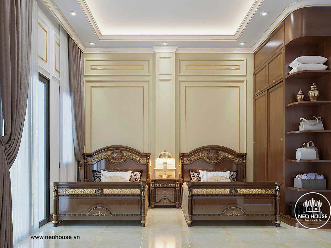 Thiết kế nội thất biệt thự tân cổ điển. Ảnh 10