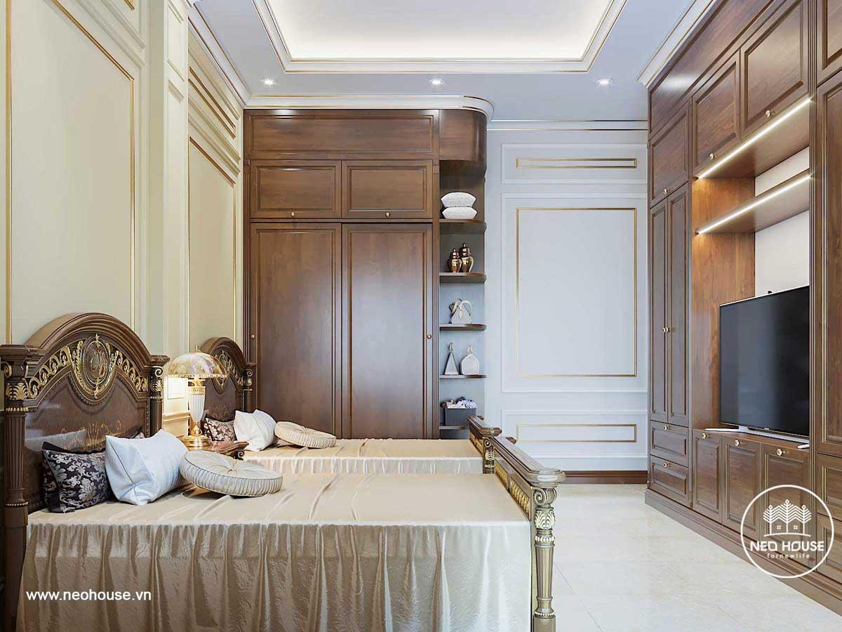 Thiết kế nội thất biệt thự tân cổ điển. Ảnh 11