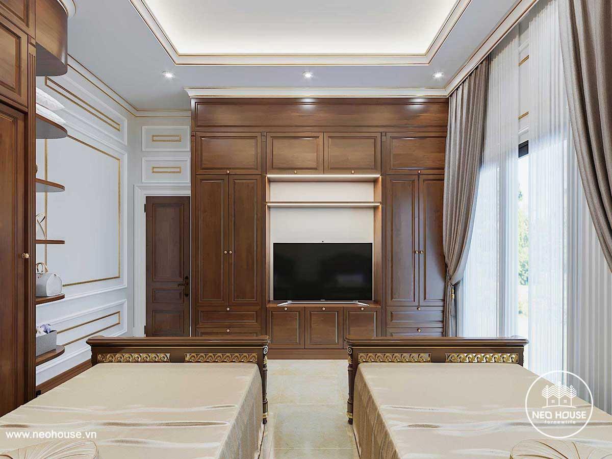 Thiết kế nội thất biệt thự tân cổ điển. Ảnh 12