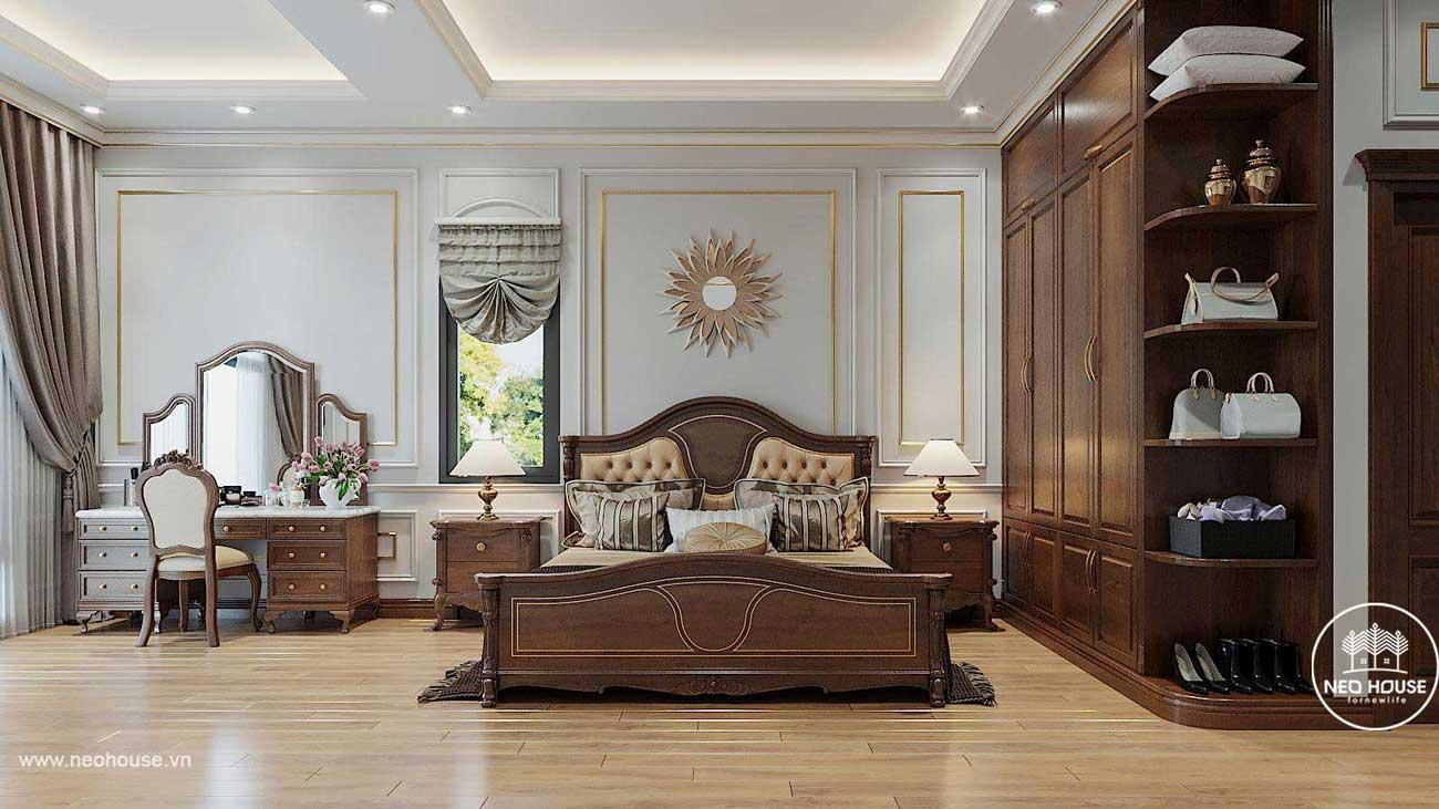 Thiết kế nội thất biệt thự tân cổ điển. Ảnh 8