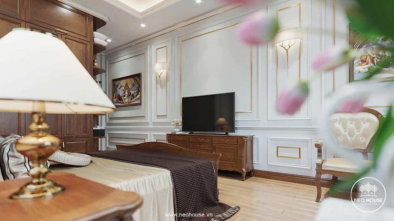 Thiết kế nội thất biệt thự tân cổ điển. Ảnh 9