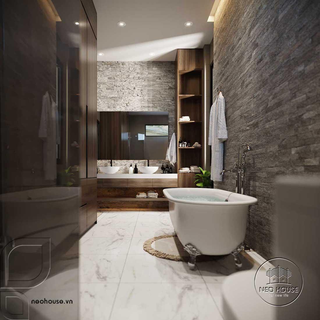 Nội thất phòng WC Master