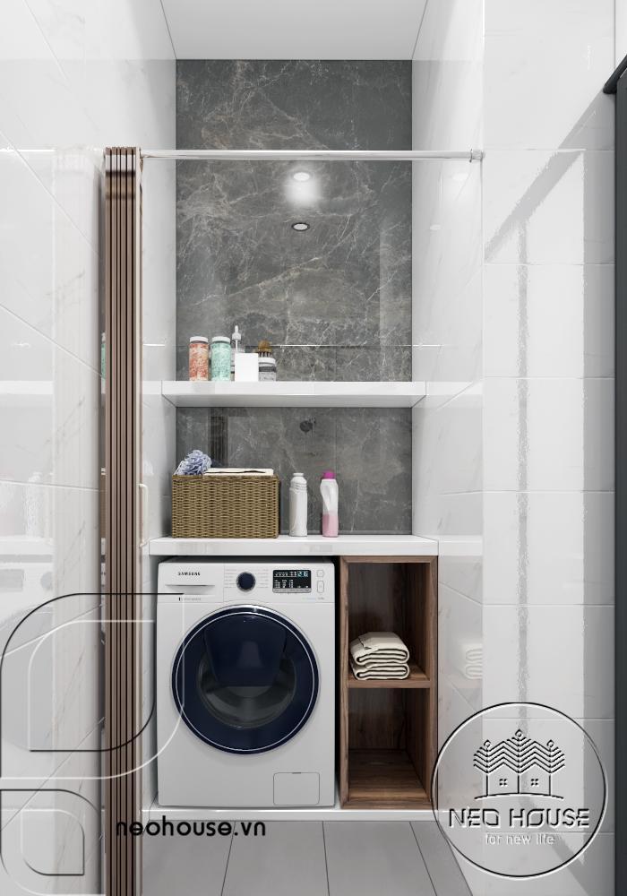 Khu vực giặt phơi
