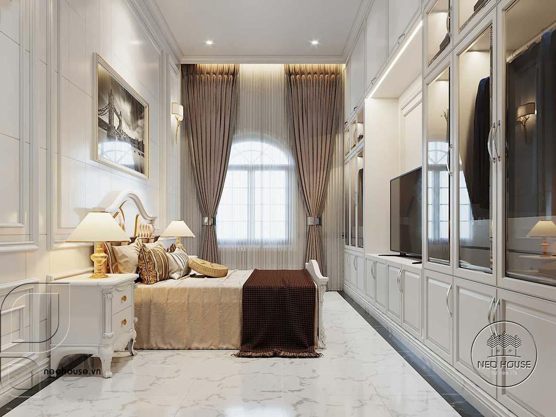 Thiết kế nội thất biệt thự 3 tầng phòng ngủ. Ảnh 7