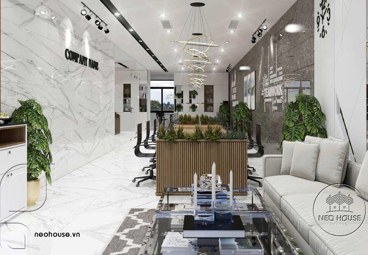 Thiết lế nội thất văn phòng làm việc 5 tầng. Ảnh 8
