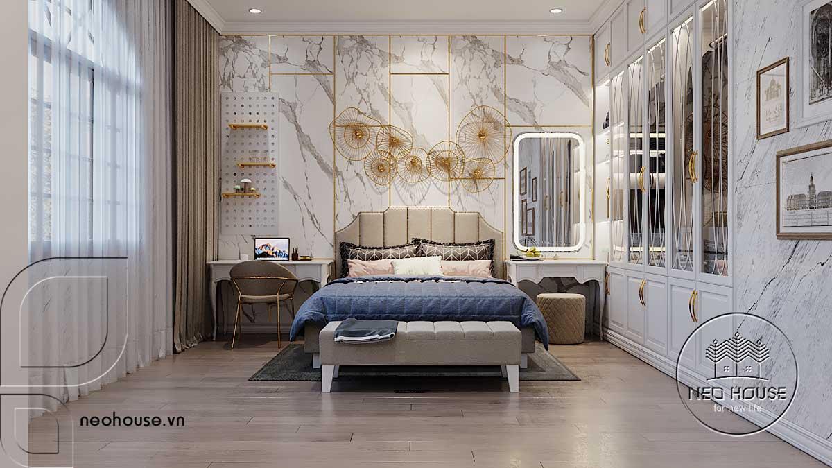 Thiết kế nội thất phòng ngủ cho bé lớn