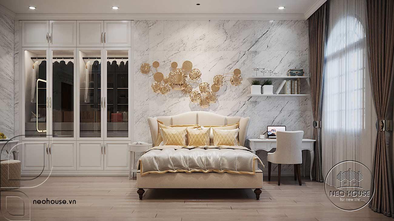 Thiết kế nội thất phòng ngủ tại lầu 1. Ảnh 2