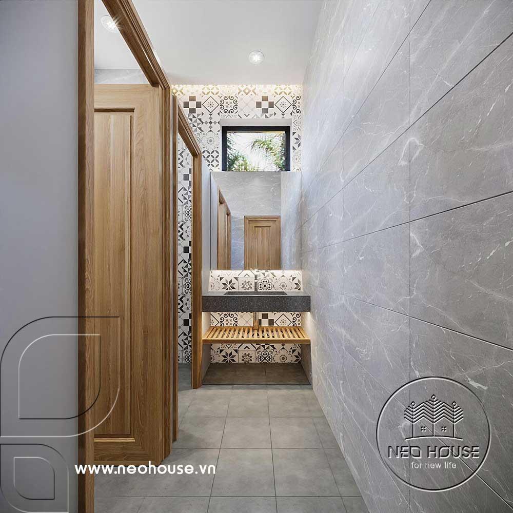 Thiết kế văn phòng công ty khu vực WC. Ảnh 4