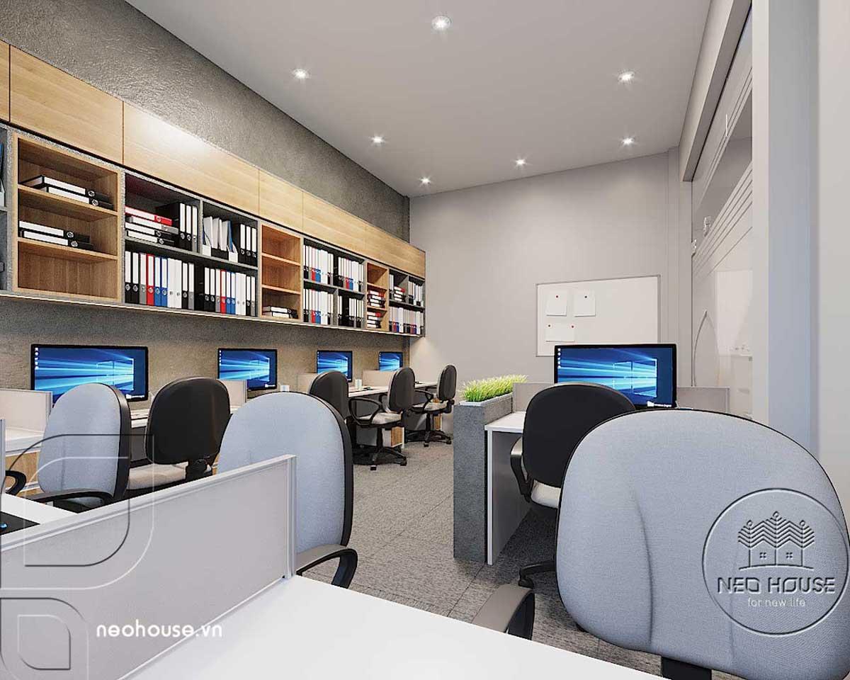Thiết kế thất văn phòng công ty khu vực phòng kỹ sư. Ảnh 1