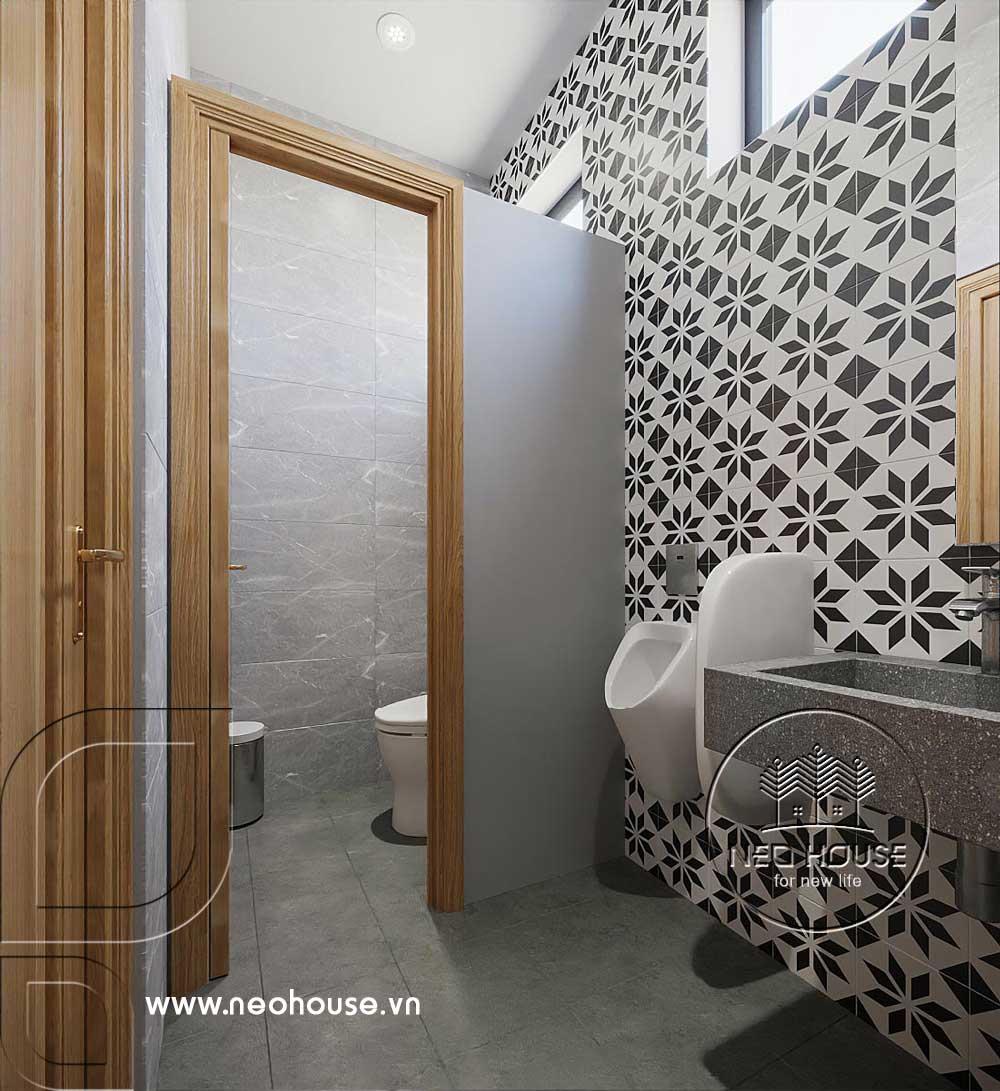 Thiết kế văn phòng công ty khu vực WC. Ảnh 2