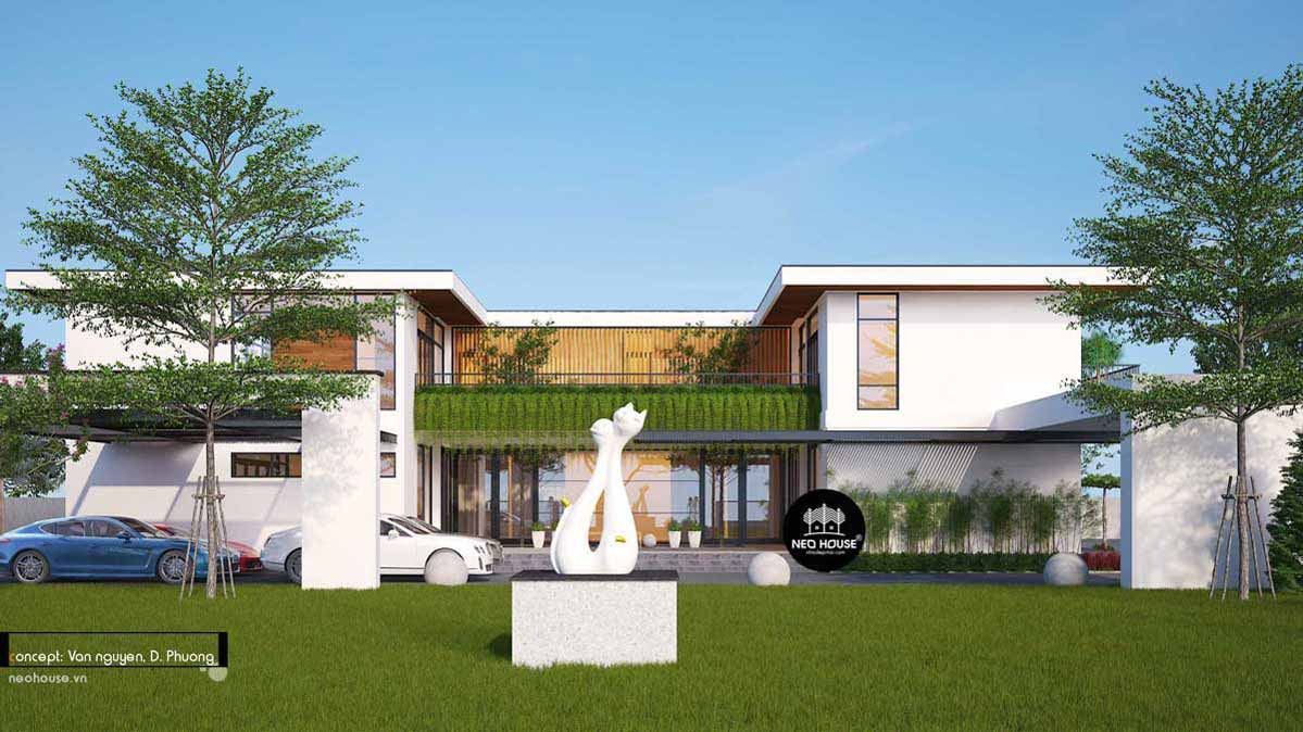 Mẫu biệt thự đẹp nhất Việt Nam. Ảnh 25