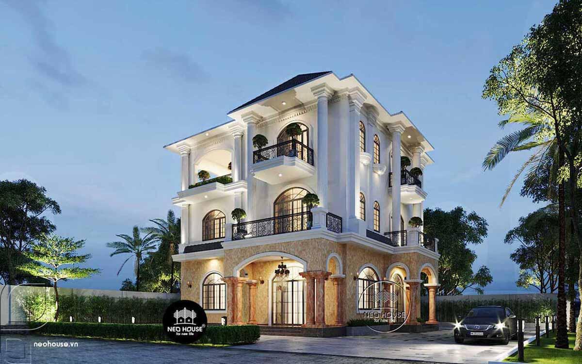 Mẫu biệt thự đẹp nhất Việt Nam. Ảnh 5