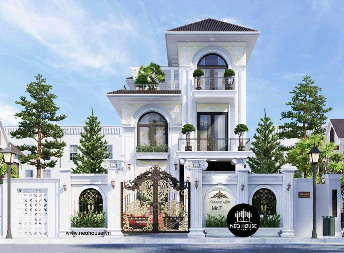 Mẫu biệt thự đẹp nhất Việt Nam. Ảnh 6