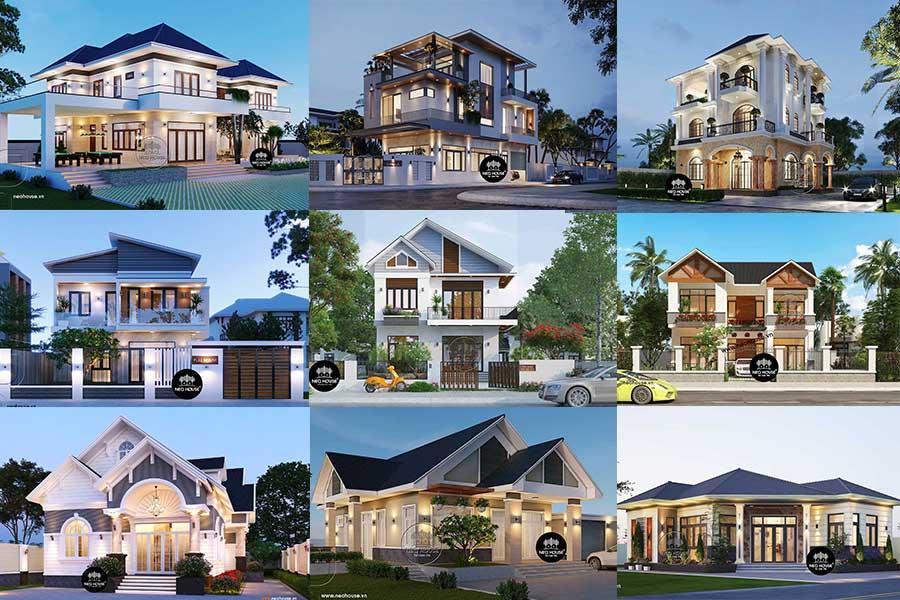 1000+ Mẫu Biệt Thự Đẹp Nhất Việt Nam Đã Được Thiết Kế Thi Công