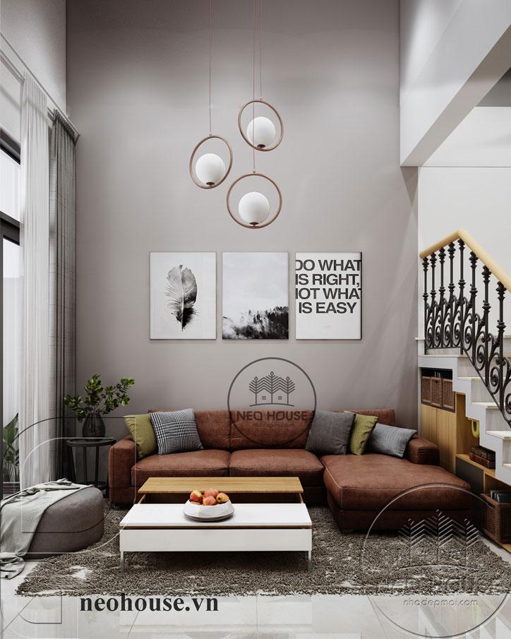 Thiết kế nội thất phòng khách cổ điển. Ảnh 2