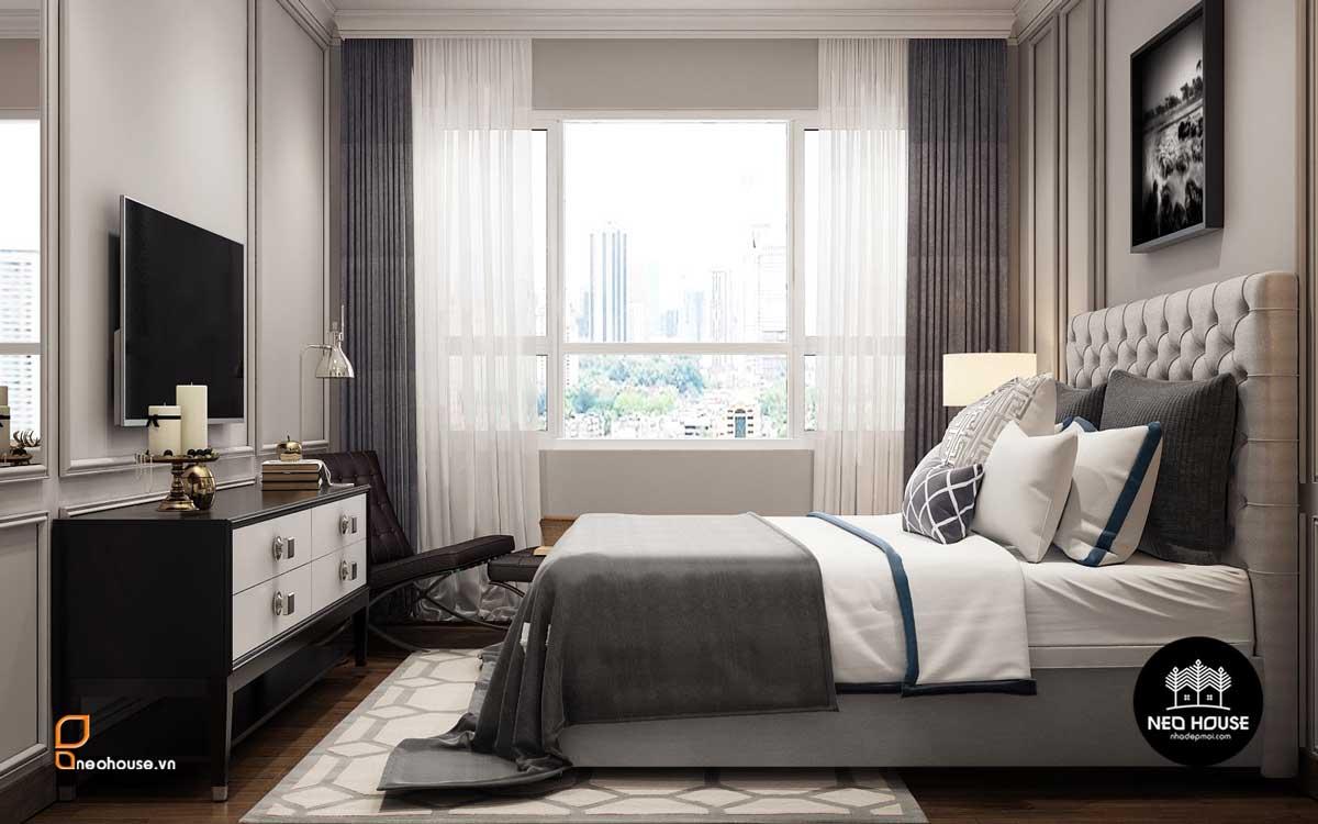 Thiết kế nội thất phòng ngủ Scandinavian. Ảnh 4