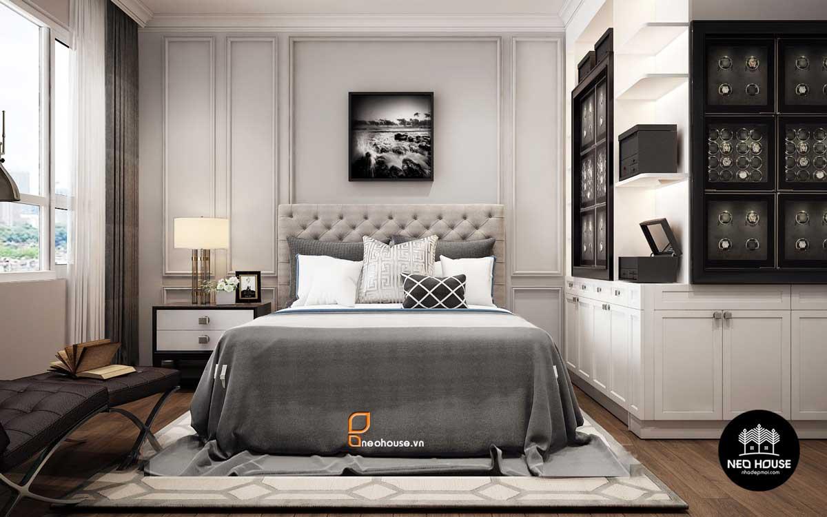 Thiết kế nội thất phòng ngủ Scandinavian. Ảnh 3