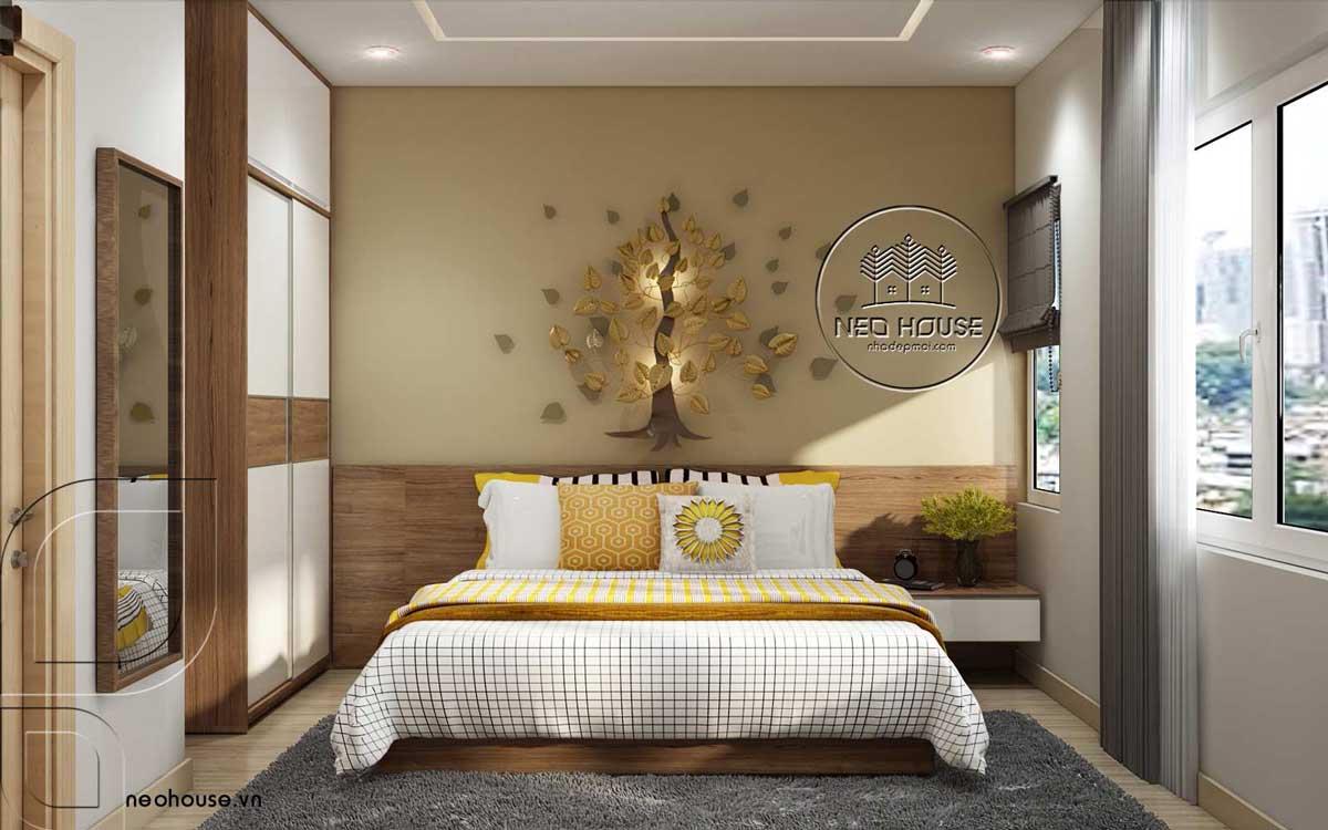 Thiết kế nội thất phòng ngủ đương đại. Ảnh 2