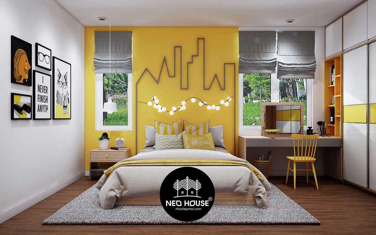 Thiết kế nội thất phòng ngủ cho trẻ. Ảnh 4