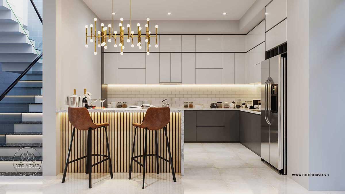 Thiết kế nội thất phòng bếp. Ảnh 3