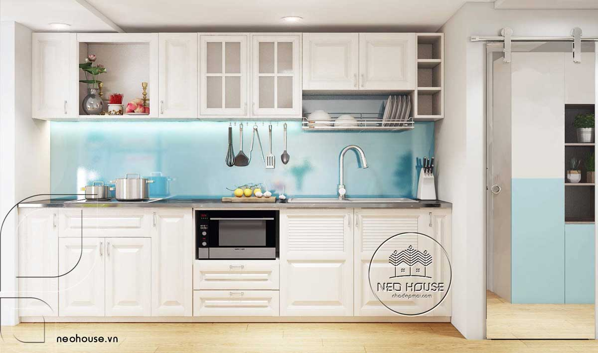 Thiết kế nội thất phòng bếp. Ảnh 8