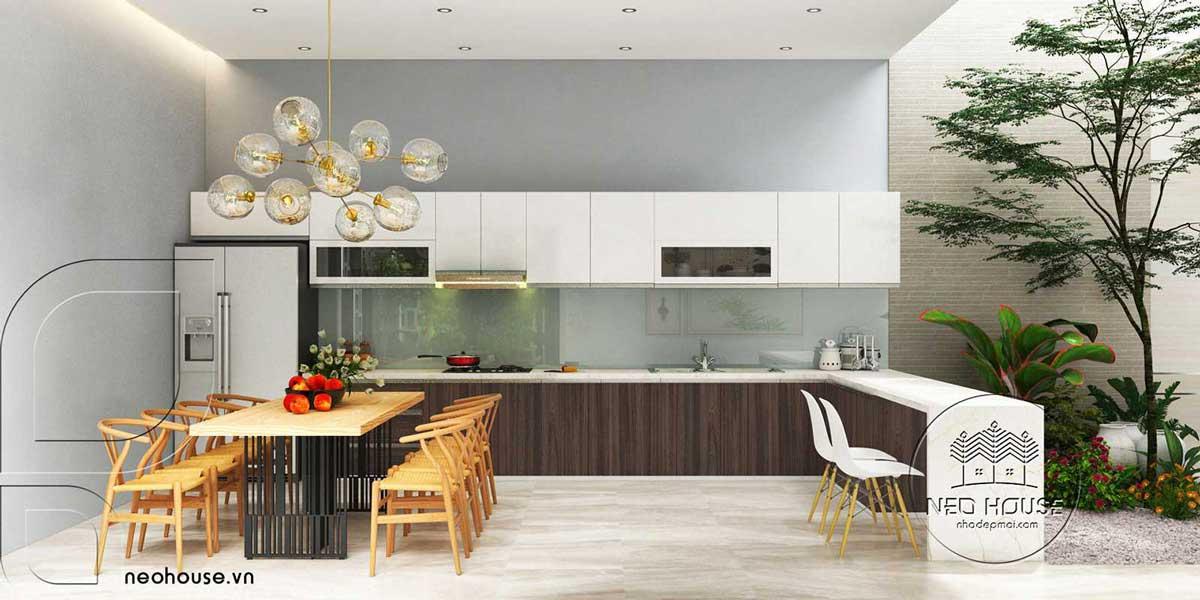 Thiết kế nội thất phòng bếp. Ảnh 6
