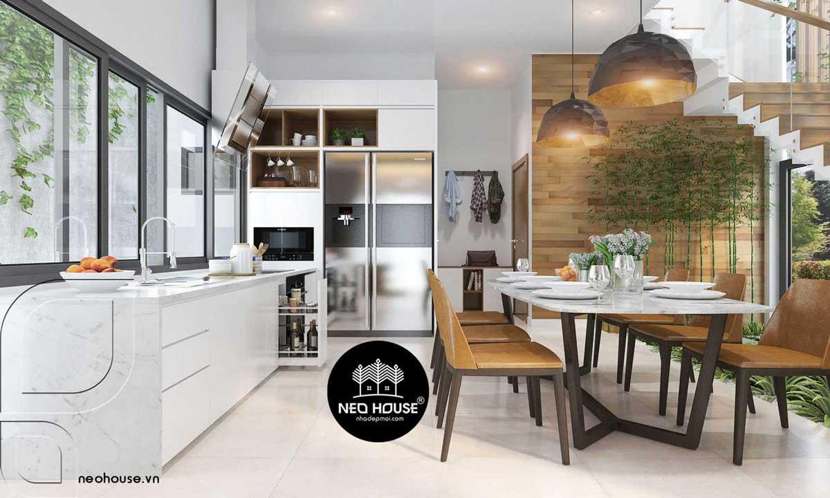 Thiết kế nội thất phòng bếp. Ảnh 4