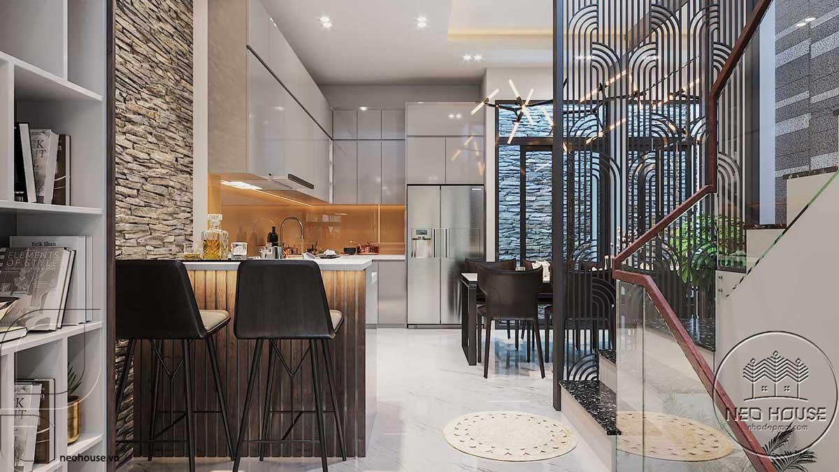 Thiết kế nội thất phòng bếp. Ảnh 7