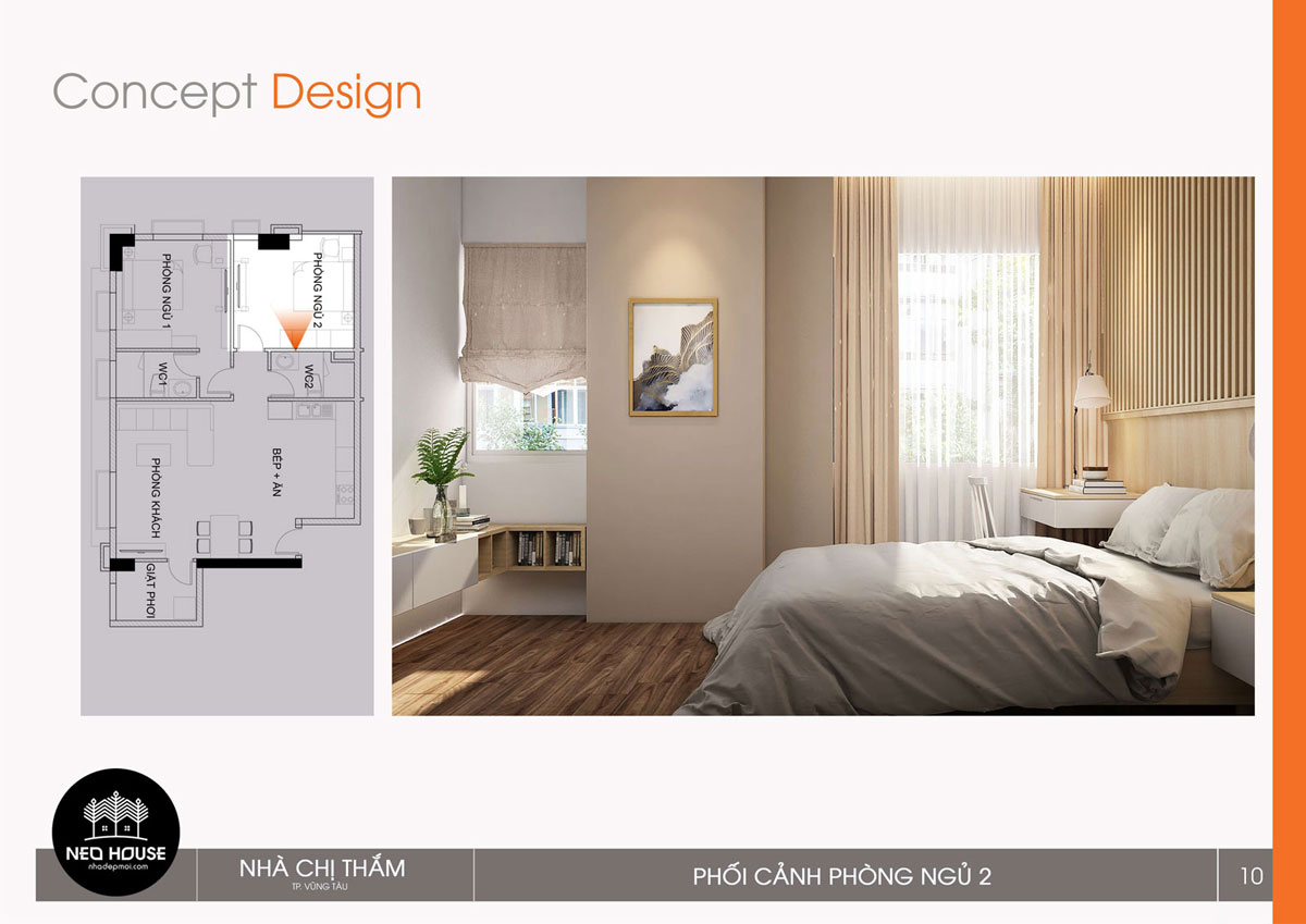 Thiết kế nội thất chung cư 53n2. Ảnh 1