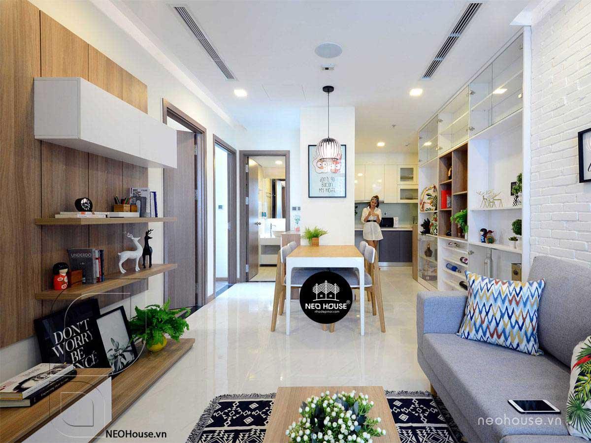Thiết kế nội thất chung cư 70m2. Ảnh 1
