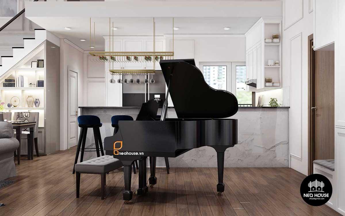 Thiết kế nội thất chung cư 75m2. Ảnh 3