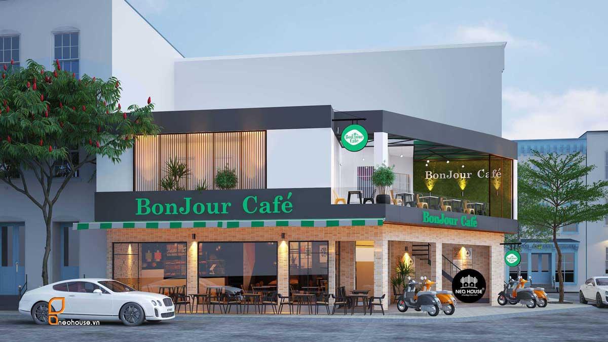 Thiết kế nội thất quán cafe. Ảnh 4