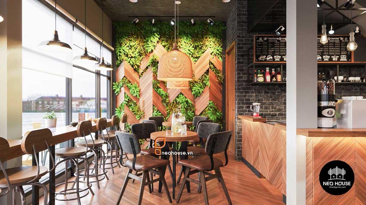 Thiết kế nội thất quán cafe. Ảnh 6