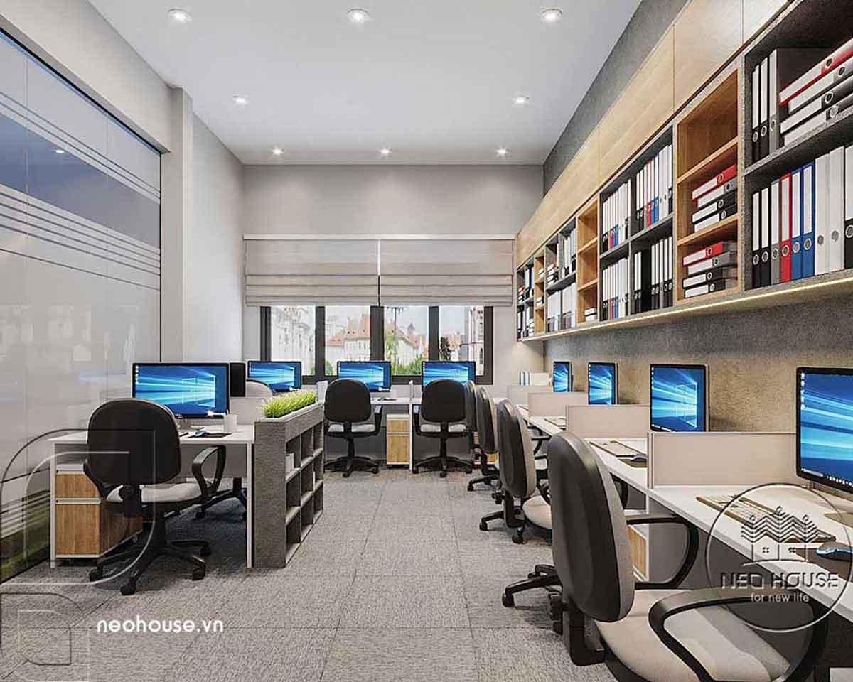 Thiết kế nội thất văn phòng. Ảnh 3