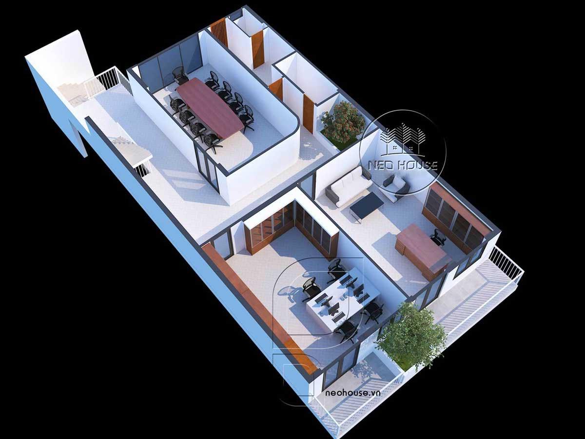 Thiết kế nội thất văn phòng. Ảnh 6